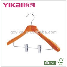 Cherry wooden hangers wholesale