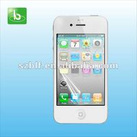 Top quality screen protector with design for iphone 4 4s factory supply