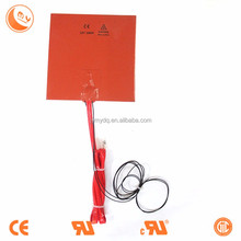 3m silicone rubber heater silicone rubber heat blanket infrar asphalt heater with UL