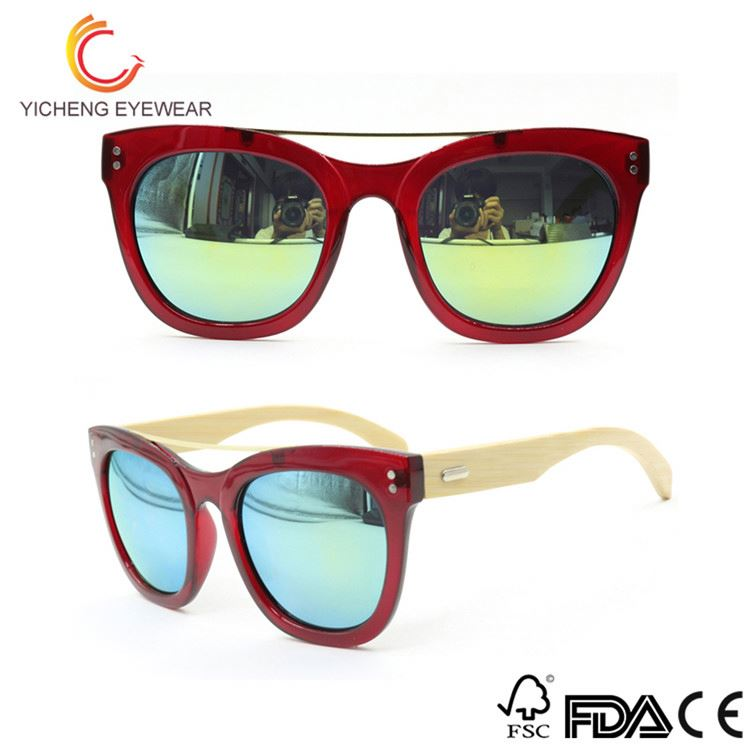 Most popular custom design custom wood bamboo sunglasses