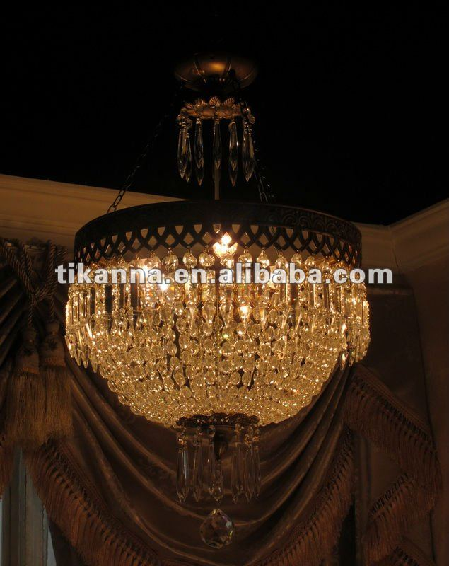 antique crystal ceiling lighting