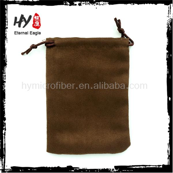 New design custom size velvet pouch for pens with high quality