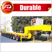 250 Ton Lowboy Semi Trailer/10 Modules Modular Semi Trailer For Large Equipement Transportation