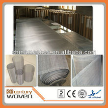 Century Woven rubber coated wire mesh, stainless steel woven wire cloth