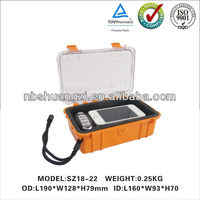 Hard plastic waterproof small case
