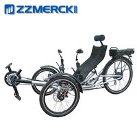 Single Person 3 Wheel Electric Recumbent Tricycle