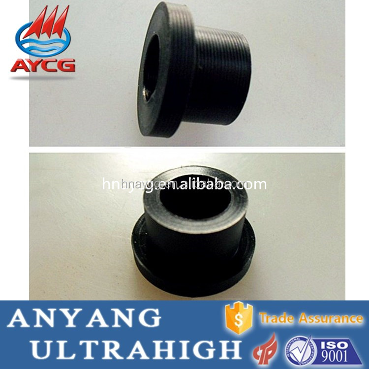 As per the customers drawing light weight oilless UHMW hollow plastic tube