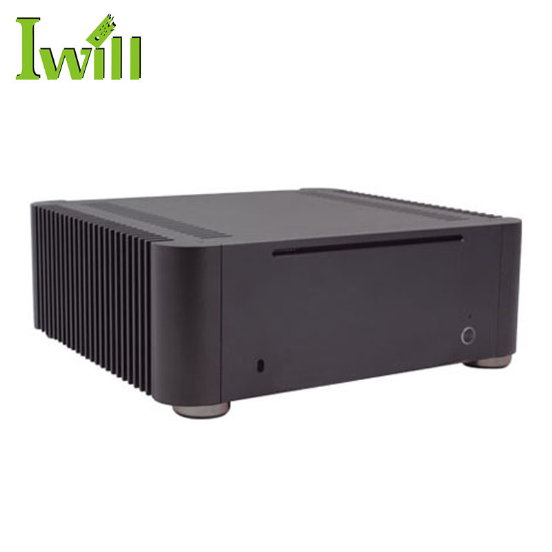 New design mini pc case MPC-T8 horizontal computer case with fanless