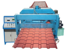 metal step roof tile sheet roll forming machine