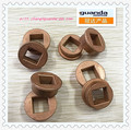 The inner hole bronze sintered bushes from bronze powder