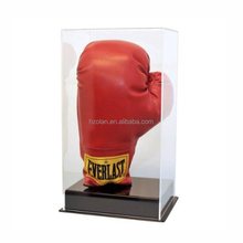 Custom Retail Store Clear Acrylic Boxing Glove Display Case