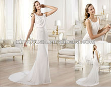 Best hot selling bridal wedding dress POW-281 Romantic Wedding dress 2013