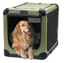 wholsale decorate travel dog crate portable