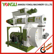 very popular biomass wood/straw/stalk/grass combind wood pellet mill with crusher