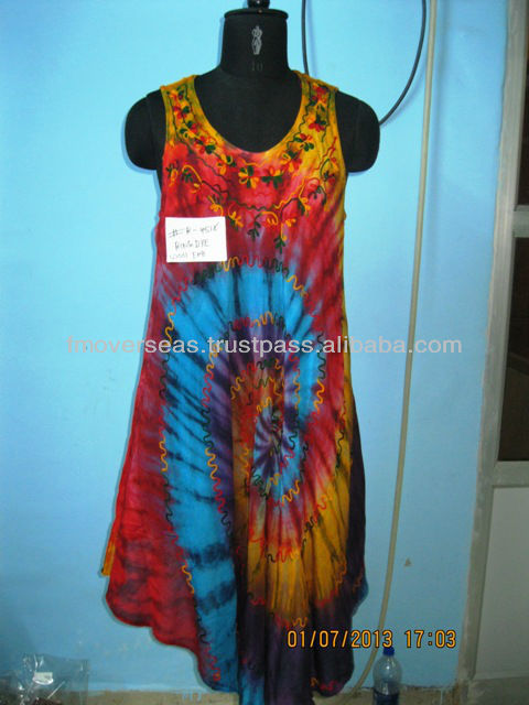 NEW LOOK TYE DYE UMBRELLA DRESS