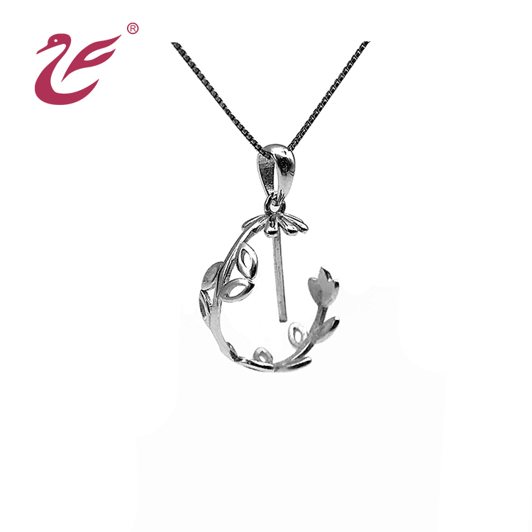 Customize 2019 fashionable 925 silver necklace pendant