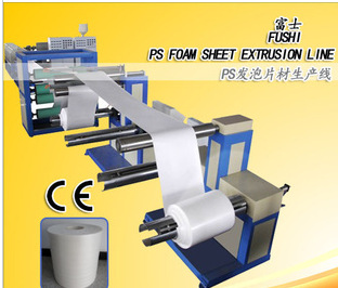 Full Automatic High Output ps Plastic Foam board Extrusion Line