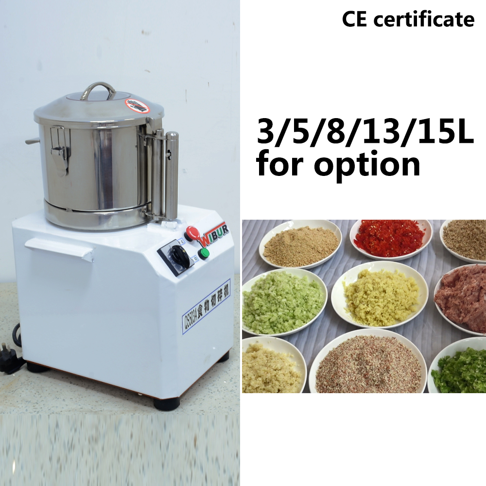 commercial electric food chopper vegetable chopper grinder machine