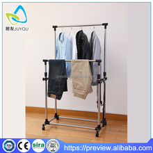Stainless steel hanging clothes drying rack