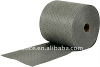 Universal Absorbent Roll In Environment