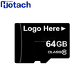 Custom Logo Custom Package Class10 Mini Memory Card 64 GB