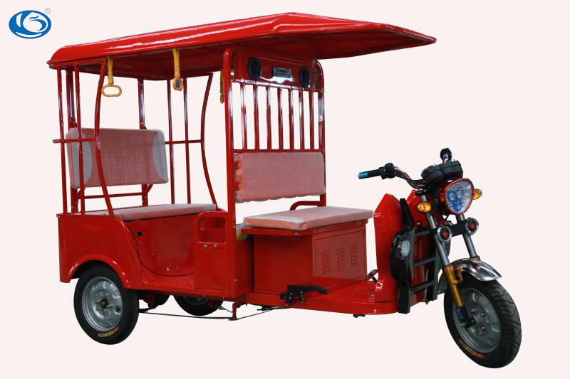 2016 Indian electric rickshaw for passengers, Tuk-Tuk, electric tricycle, battery operated rickshaw