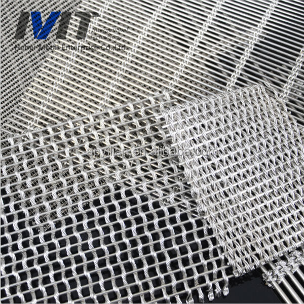 7x7 Stainless Steel Webnet Rope Mesh for architecture