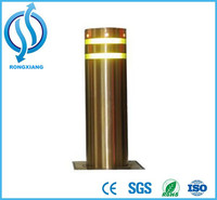 Stainless Steel Parking Bollard With Light