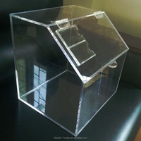 Good quality customized acrylic stackable candy bin wholesale