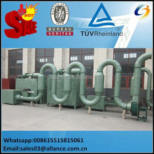 Hot air flow type pipe dryer with high capacity