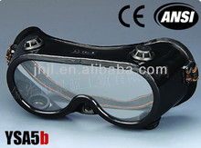 Ventilate Black Frame, Black Valve Safety Goggles