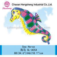 inflatable decorating sea horse foil balloon