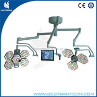 medical clinics led operation theater light manufacturers led operating light led ot light with camera system