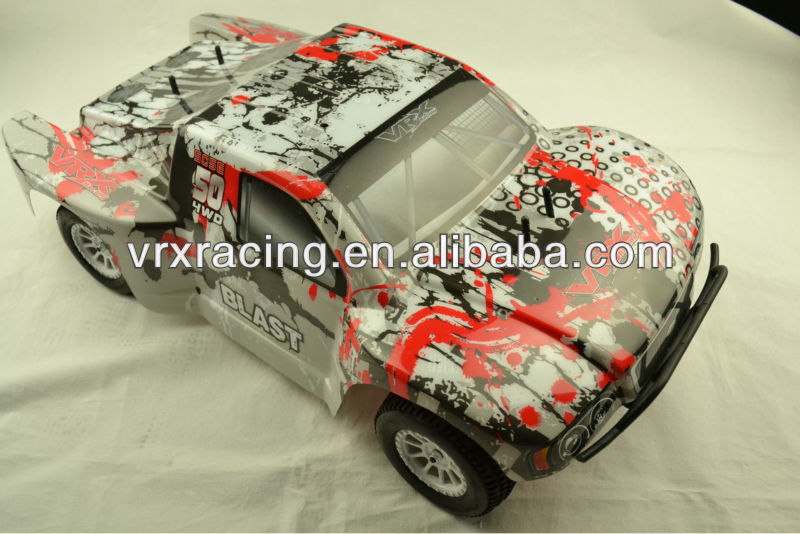 Printed SC truck body orange,1/10th scale rc rally car orange body, 4wd gas& electric rc rally's body shell