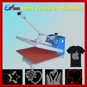 Portable heat press machine--T shirt printing