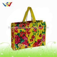 Folding Plaid Recycling Shopping Bags simple bag