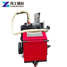 Durable usage crack filling sewing machine for road construction