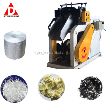 Bobbin Tow Fibreglass Hair Nonwoven Fabrics Kevlar Carbon Fibre Cutting Chopping Machine
