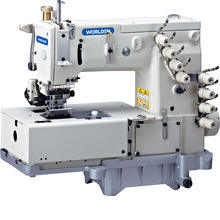 WD 1508P Double Chain Stitch Machine With Horizontal Looper Movement Mechanism Juk Industrial Golden Wheel Sewing Machines