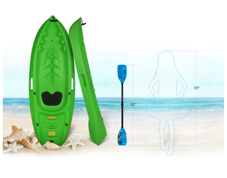 cheap plastic canoe for child
