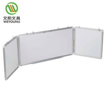 Economical education magnetic white board foldable