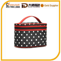 Beautiful Dot Multifunctional Cosmetic Case with Handle