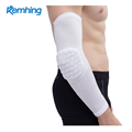 Cheap wholesale best seller quick dry fabric sport armband elbow pads padded basketball baseball arm sleeve pad