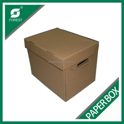 STRONG ARCHIVE BOX CORRUGATED DOCUMENT HOLDING BOX FOR SALE