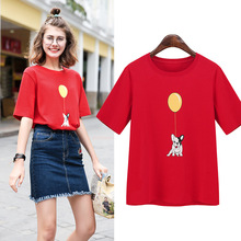 cheap china bulk wholesale clothing girl screen printing t shirts women round collar custom quality t shirts design cotton 100%