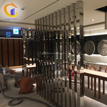 Partitions Screen Stainless Steel Custom Fancy Commercial French Metal Room Hall Dividers