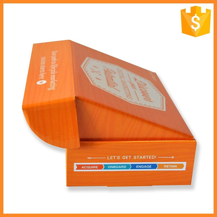 Custom printed waxed corrugated packaging cardboard boxes shipping boxes