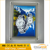 Wholesale backlight led picture frame with transparent white acrylic panel