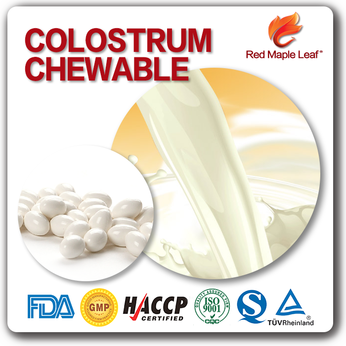 Sugar Free Lactoferrin Colostrum Milk Powder Softgel