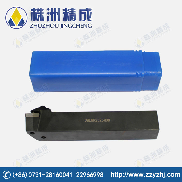 CNC Cemented Carbide Turning Cutting Tools Holder with D-type Clamping System DWLNR2525M08